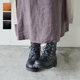 【arome de muguet】レザーブーツ ドミニク 革靴 レザーシューズ 履き心地 ナチュラル カジュアル 日本製 ショートブーツ アロマドミュゲ レディース リュバンドティアラ Ruban de Tiara