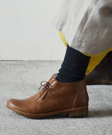 【arome de muguet】レザーシューズ ベツィー 革靴 レザーシューズ 履き心地 柔らかい ナチュラル カジュアル 日本製 ショートブーツ アロマドミュゲ リュバンドティアラ Ruban de Tiara