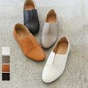 クーポン取得で20%OFF ◇ レザー シューズ 日本製 外反母趾 履き心地 柔らかい シンプル 革靴 レディース フラットシ…