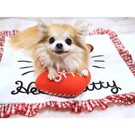 オッティ Otty ×HELLO KITTY☆フェイス・アゴ乗せ枕付きカフェマット【小型犬 ペット ブランケット マット セレブ】