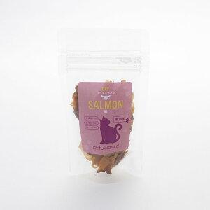 にゃんのはな 国産鮭燻製うまうまスライス 15g×10個セット【猫用 おやつ 魚】