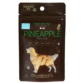 わんのはな FRESH DRYフルーツ パイナップル 8g×5袋【犬用 おやつ フルーツ 果物】