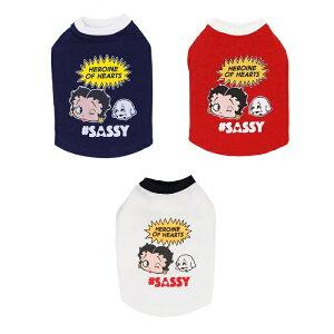 天使のカート Betty Boop pair Tee(Heroine)【小型犬 犬服 ウエア トップス Tシャツ セレブ】