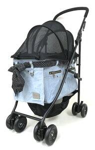 マザーカート Mother Cart アジリティー デニム【小型犬 キャリーバッグ キャリーカート ペットカート ペットバギー 犬用品】