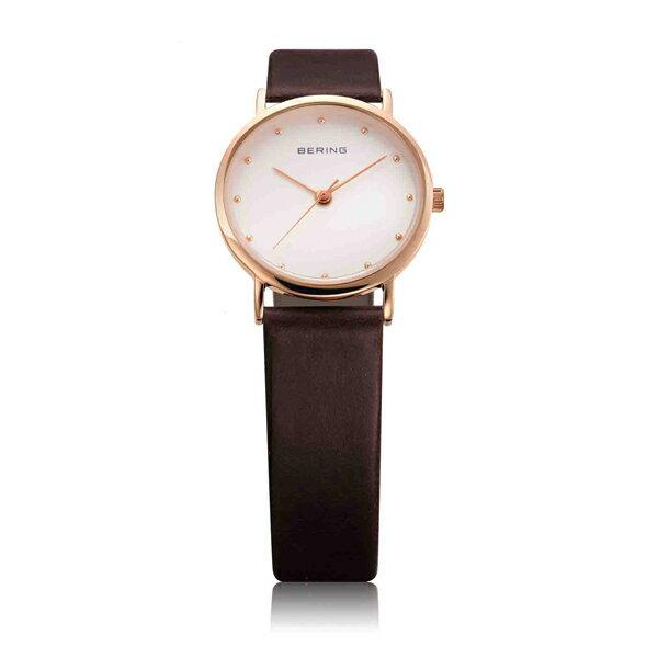 BERING ベーリング Ladies Classic Calf Leather 日本限定 ペア 【国内正規品】 腕時計 レディース BER-13426-564 【送料無料】