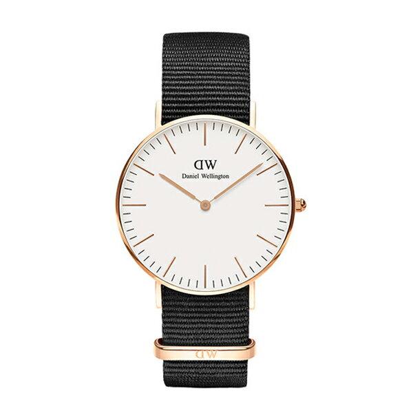 Daniel Wellington ダニエルウェリントン CLASSIC PETITE CORNWALL ローズゴールド 36mm 【国内正規品】 腕時計 DW00100259 【送料無料】