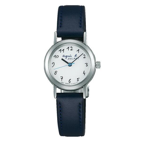 agnes b. アニエスベー Marcello マルチェロ ソーラー TiCTAC別注 ペア 【国内正規品】 腕時計 レディース FBSD709 【送料無料】【あす楽対応】