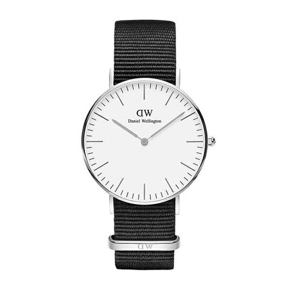 Daniel Wellington ダニエルウェリントン CLASSIC PETITE CORNWALL シルバー 36mm 【国内正規品】 腕時計 DW00100260 【送料無料】