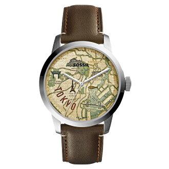 FOSSIL fosshiru TOWNSMAN市鎮人員專刊手錶人FS5100