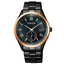 CITIZEN COLLECTION シチズンコレクション 腕時計 メンズ エコ・ドライブ スモールセコンド 限定モデル マットブラック BV1124-90L