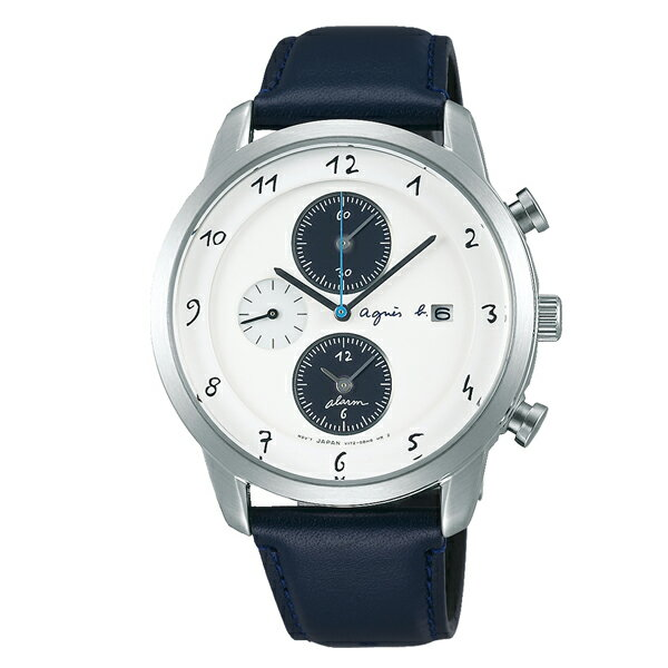 agnes b. アニエスベー Marcello マルチェロ ソーラー TiCTAC別注 ペア 【国内正規品】 腕時計 メンズ FBRD709 【送料無料】【あす楽対応】