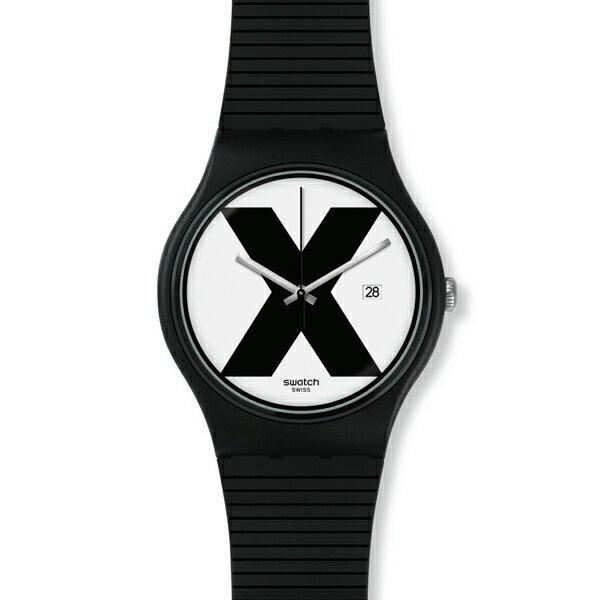SWATCH スウォッチ XX-RATED BLACK 国内正規品 腕時計 SUOB402 【送料無料】