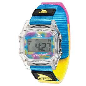 Freestyle フリースタイル SHARK CLASSIC LEASH デジタル 腕時計 メンズ レディス Clear/Cyan FS10006630