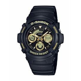 G-SHOCK ジーショック CASIO カシオ BLACK&GOLD 【国内正規品】 腕時計 メンズ AW-591GBX-1A9JF 【送料無料】
