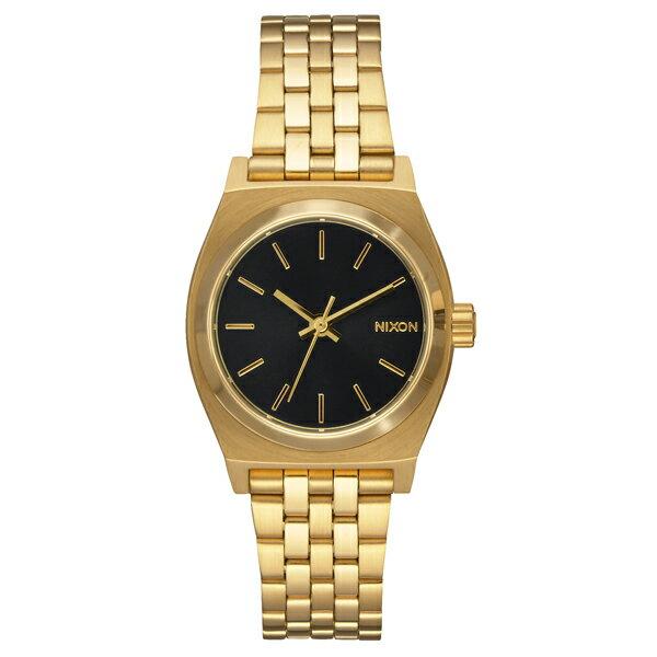 NIXON ニクソン Small Time Teller スモール タイムテラー Gold/Black 【国内正規品】 腕時計 レディース NA399513 【送料無料】【代引き手数料無料】
