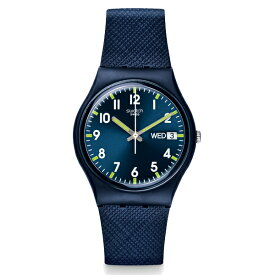 SWATCH スウォッチ SIR BLUE サー・ブルー 【国内正規品】 腕時計 GN718 【送料無料】【あす楽対応】