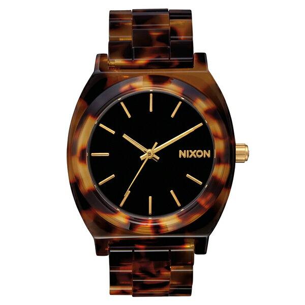 NIXON ニクソン Time Teller Acetate Tortoise/Gold 2016 日本限定 【国内正規品】 腕時計 NA3272513 【送料無料】【代引き手数料無料】