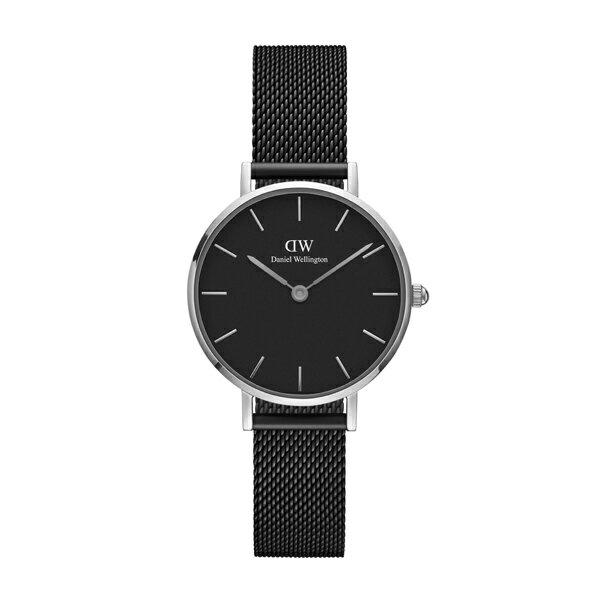 Daniel Wellington ダニエルウェリントン CLASSIC PETITE ASHFIELD シルバー 28mm 【国内正規品】 腕時計 DW00100246 【送料無料】