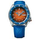 ジョジョの奇妙な冒険 黄金の風 コラボモデル グイード・ミスタ SEIKO5スポーツ 1000本限定 腕時計 自動巻 SBS…