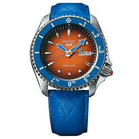 ジョジョの奇妙な冒険 黄金の風 コラボモデル グイード・ミスタ SEIKO5スポーツ 1000本限定 腕時計 自動巻 SBSA031