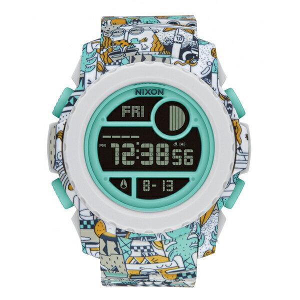 NIXON ニクソン SUPER UNIT BEACH DRIFTER LTD スティーブン・ハリントン コラボモデル 【国内正規品】 腕時計 NA9212355 【送料無料】【代引き手数料無料】