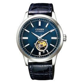 CITIZEN COLLECTION シチズンコレクション 腕時計 メンズ 機械式 メカニカルクラシカルライン 自動巻 オープンハート NB4020-11L