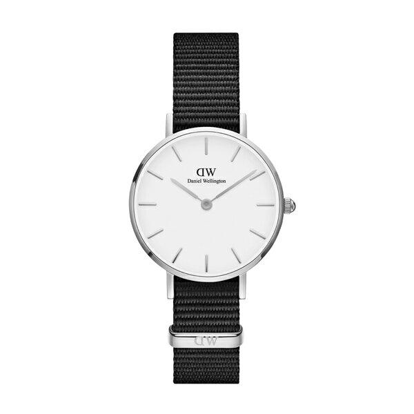 Daniel Wellington ダニエルウェリントン CLASSIC PETITE CORNWALL シルバー 28mm 【国内正規品】 腕時計 DW00100252 【送料無料】