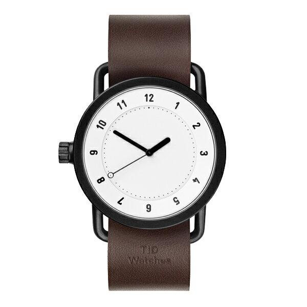 TID Watches ティッド ウォッチ WHITE/WALNUT 腕時計 TID01-WH/W 【送料無料】
