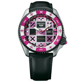 ジョジョの奇妙な冒険 黄金の風 コラボモデル トリッシュ・ウナ SEIKO5スポーツ 1000本限定 腕時計 自動巻 SBSA033