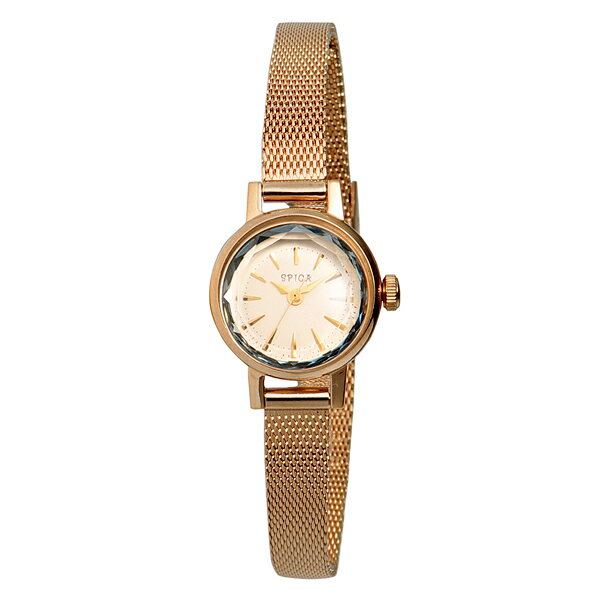SPICA スピカ カットガラス ピンクゴールド 腕時計 SPI03-PGD/PK_A 【送料無料】