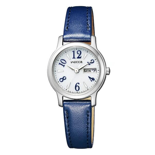 wicca ウィッカ CITIZEN シチズン ソーラーテック 腕時計 KH3-410-10 【送料無料】