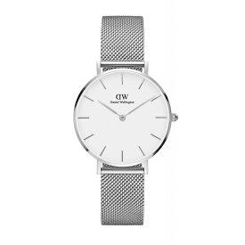 Daniel Wellington ダニエルウェリントン CLASSIC PETITE STERLING WHITE 【国内正規品】 腕時計 DW00100164 【送料無料】