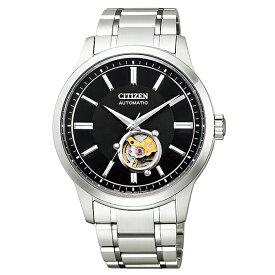 CITIZEN COLLECTION シチズンコレクション 腕時計 メンズ 機械式 メカニカルクラシカルライン 自動巻 オープンハート NB4020-96E