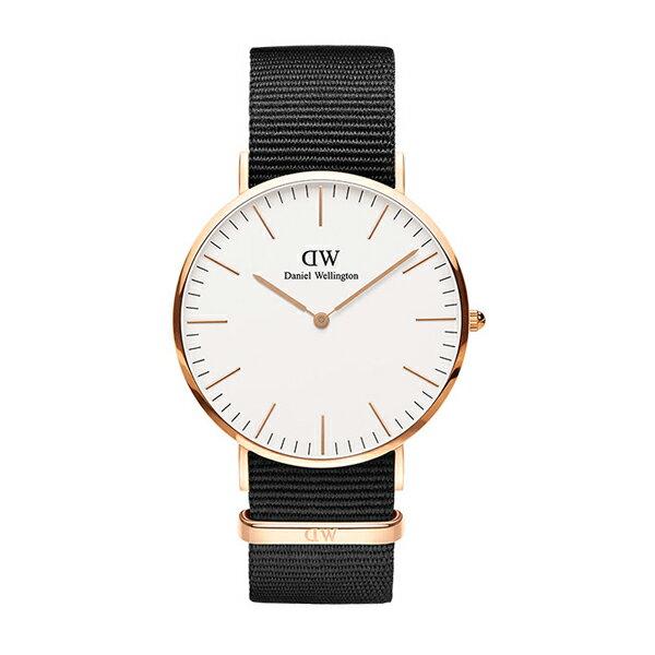 Daniel Wellington ダニエルウェリントン CLASSIC PETITE CORNWALL ローズゴールド 40mm 【国内正規品】 腕時計 DW00100257 【送料無料】
