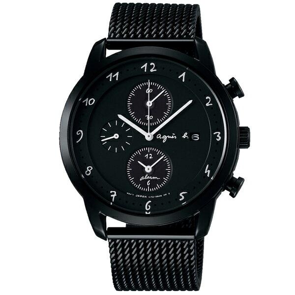 agnes b. アニエスベー Marcello マルチェロ メッシュ ソーラー 国内正規品 腕時計 メンズ FBRD943 【送料無料】