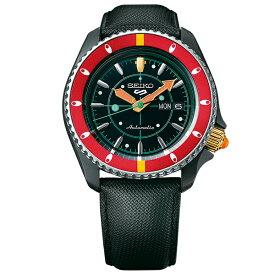 ジョジョの奇妙な冒険 黄金の風 コラボモデル ナランチャ・ギルガ SEIKO5スポーツ 1000本限定 腕時計 自動巻 SBSA037