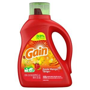 レギュラーサイズ(1.47L)の2倍のお徳用サイズです【 GAIN 】ゲイン アップルマンゴタンゴ 濃縮 液体洗剤 2.95L 100oz