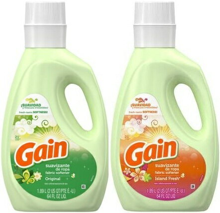 fresh-fantastic SOFTNESS!【GAIN】ゲイン柔軟剤1.89L(オリジナル・アイランドフレッシュ)