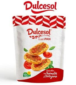 さっくさくに焼き上げられたトマト風味のクリスプブレッド、一度食べたら忘れられないおいしさです。【Dulcesol】ドゥルセソル トマトクリスプブレッド 160g (ご注文確認後にメーカー発注→