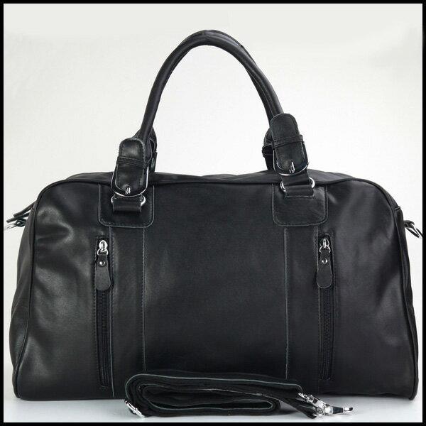 潮牛 本革 牛革 ナッパレザー ボストンバッグ メンズ 軽量 トラベルバッグ 2WAY 1-2泊 旅行鞄 黒 大容量 男女兼用