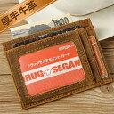 TIDING スキミング防止 牛革 メンズ カードケース カード入れ 薄型 スリム オイルプルアップレザー ダークブラウン 2色
