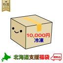 《10000円ポッキリ》《冷凍》 北海道 復興 福袋 北海道 支援 応援 ふっこう 福袋 銘菓 食品 復興 魚 肉 ジンギスカン …