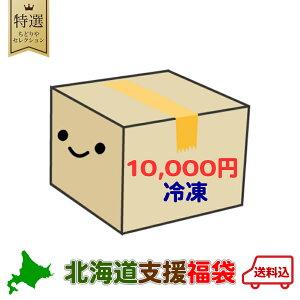【10000円ポッキリ】【冷凍】 北海道 復興 福袋 送料無料 北海道 ふっこう 福袋 銘菓 食品 復興 クッキー チョコ ポテトチップス ラーメン カレー 珍味 2020