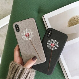 iphoneXs Max XsMax XR Xs iphonex iphone xs max xr xs xsmax x 8 8plus 7 7plus iphone6 iphone6s iphone6plus iphone6splus 海外 かわいい 花 フラワー 刺繍 スマホケース iphone plus 可愛い おしゃれ 韓国 耐衝撃 ソフト おもしろ ケース カバー アイフォン