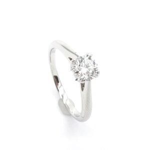 HARRY WINSTON ハリーウィンストン ソリティア ダイヤリング Pt950 婚約指輪 エンゲージリング