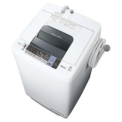 【送料無料】【代金引換不可】日立 HITACHI 6.0kg 全自動洗濯機 ピュアホワイト 白い約束 NW-6WY W 【沖縄・北海道・離島の発送はできません】