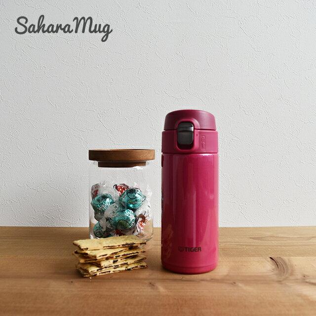 甘すぎず人目を引く人気カラー タイガー魔法瓶 ステンレスボトル ワンプッシュ マグ MMJ-A036PA パッションピンク 0.36L 保温 保冷 おしゃれ かわいい 水筒