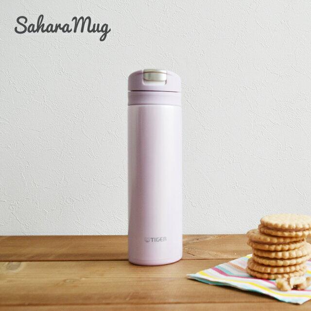 タイガー魔法瓶 ステンレス スリム マグ ボトル ワンプッシュ MMX-A031PD デイジーピンク 0.3L 保温 保冷 かわいい おしゃれ 小さい 軽い コンパクト 水筒