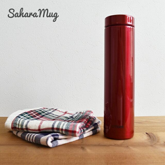 容量たっぷりでもバックに入るスリムタイプ タイガー魔法瓶 ステンレス マグ ボトル MMZ-A060RY アガット 0.60L おしゃれ かっこいい 広口 軽い 水筒