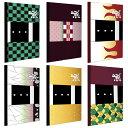 10月25日限定\エントリー&楽天カード利用でP22倍以上/和柄 B5ノート{文具 キャラクター 鬼 鬼滅の刃風 和柄 ステー…